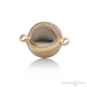 SPGBR09 Sparkling Jewels Geelgouden Pendant
