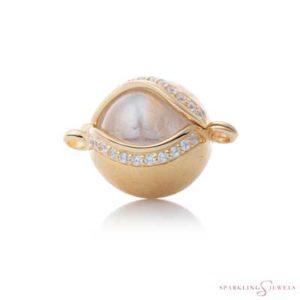 SPGBR12 Sparkling Jewels Geelgouden Pendant