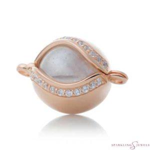 SPRGBR02 Sparkling Jewels Roségouden Pendant