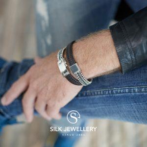 214BBR Silk armband