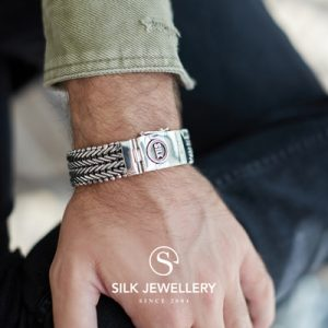 233 Silk armband