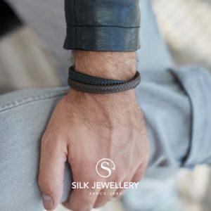 258BBR Silk armband