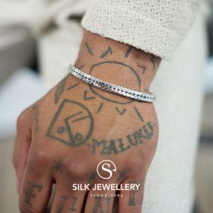 312 Silk armband