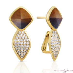 EAG06-G09 Sparkling Jewels oorbellen