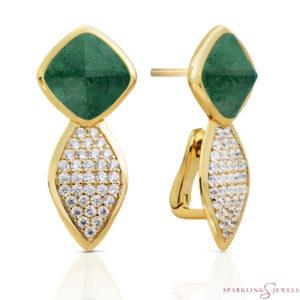 EAG06-G16 Sparkling Jewels oorbellen