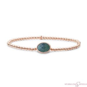 SB-RG-3MM-TG18 Sparkling Jewels Armband