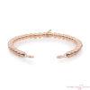 SB-RG-4MM Sparkling Jewels Armband Roségoud