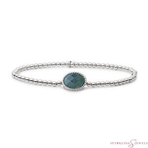 SB-S-3MM-TG18 Sparkling Jewels Armband