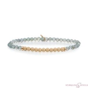 SBG-GEM18-3MM-CHAM Sparkling Jewels Armband