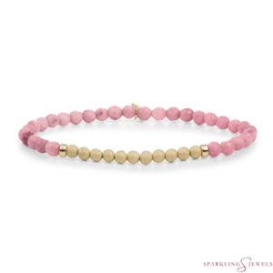SBG-GEM24-3MM-CHAM Sparkling Jewels Armband