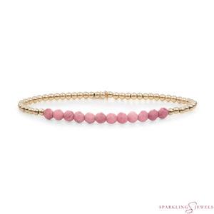SBG-GEM24-3MM-LINE Sparkling Jewels Armband