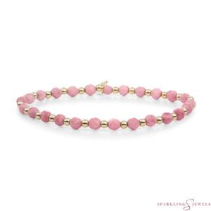 SBG-GEM24-3MM-MIX Sparkling Jewels Armband