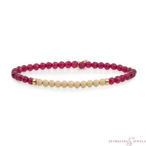 SBG-GEM39-3MM-CHAM Sparkling Jewels Armband