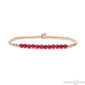 SBG-GEM39-3MM-LINE Sparkling Jewels Armband
