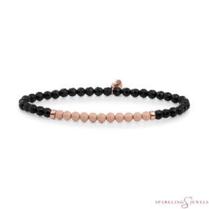SBRG-GEM07-3MM-CHAM Sparkling Jewels Armband
