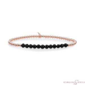 SBRG-GEM07-3MM-LINE Sparkling Jewels Armband
