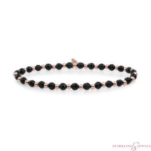SBRG-GEM07-3MM-MIX Sparkling Jewels Armband