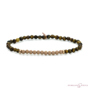 SBRG-GEM09-3MM-CHAM Sparkling Jewels Armband