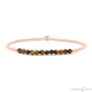 SBRG-GEM09-3MM-LINE Sparkling Jewels Armband
