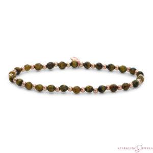 SBRG-GEM09-3MM-MIX Sparkling Jewels Armband