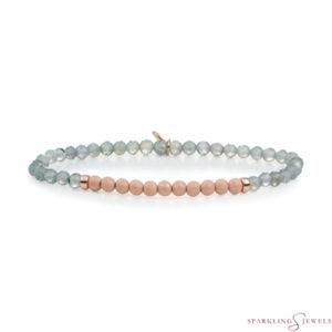 SBRG-GEM18-3MM-CHAM Sparkling Jewels Armband
