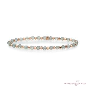 SBRG-GEM18-3MM-MIX Sparkling Jewels Armband