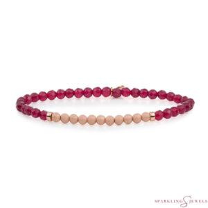 SBRG-GEM39-3MM-CHAM Sparkling Jewels Armband