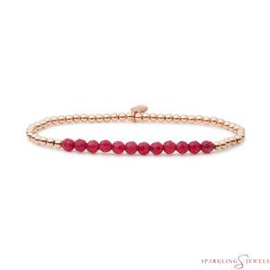SBRG-GEM39-3MM-LINE Sparkling Jewels Armband