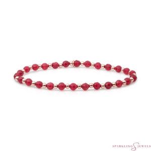 SBRG-GEM39-3MM-MIX Sparkling Jewels Armband