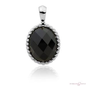SP21-G07 Sparkling Jewels Pendant Onyx