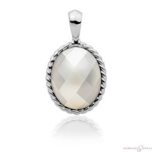 SP21-P01 Sparkling Jewels Pendant Parelmoer