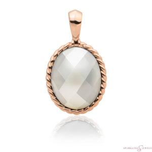 SPRG21-P01 Sparkling Jewels Pendant Parelmoer