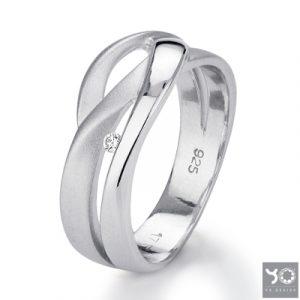 T0598 Squid Yo Design Ring