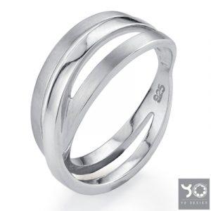 T0646 Subway Yo Design Ring