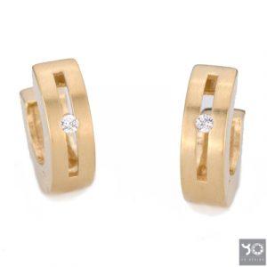 T0742 Digital Gold Yo Design Creolen