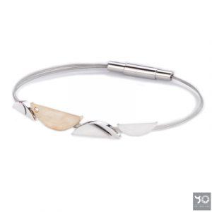 T0882 Aragon Gold Yo Design Armband