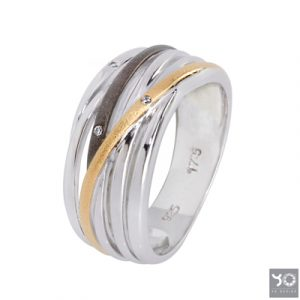 T0900 Infinity Black Yo Design Ring