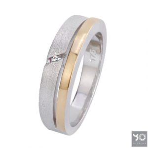 T0902 Traffic Gold Yo Design Ring