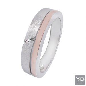 T0903 Traffic Rosé Yo Design Ring