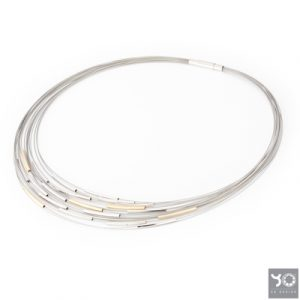 T0937 Infinity Gold Yo Design Collier