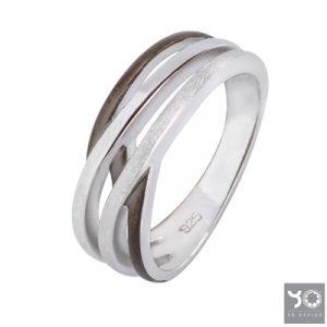 T0941 Memo Black Yo Design Ring