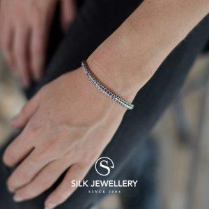 333 Silk armband