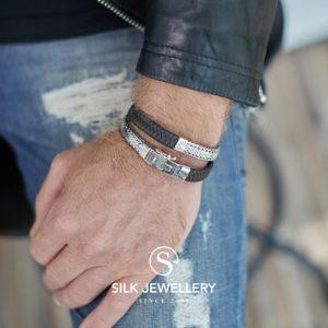 362BBR Silk armband