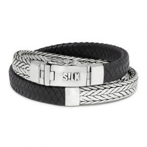 362BLK Silk armband