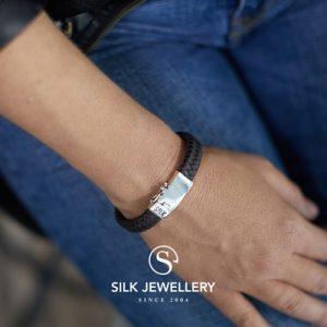 841BBR Silk armband