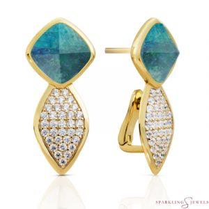 EAG06-G18 Sparkling Jewels oorbellen