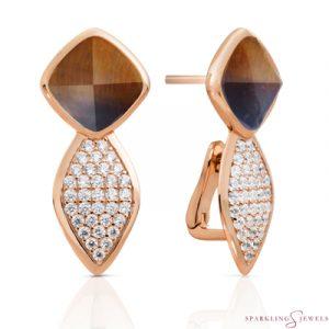 EAR06-G09 Sparkling Jewels oorbellen