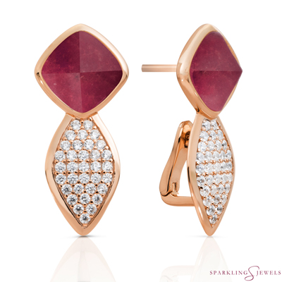 EAR06-G39 Sparkling Jewels oorbellen