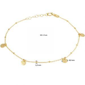 040-22518K Armband Rondjes