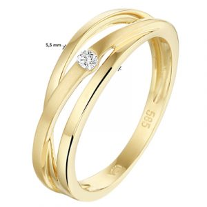 040-22534K Ring Diamant